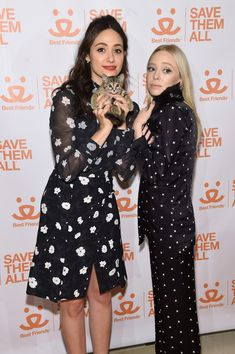 Emmy Rossum Photos Photos - Actresses Emmy Rossum and Portia Doubleday attend the 2017 Best Friends Benefit To Save Them All on April 3, 2017 in New York City. - 2017 Best Friends Benefit To Save Them All