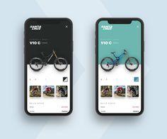 Pure Inspiration: A roundup Eric Hoffman, Liyuan Zheng and more - UI Design Board Ios App Design, Mobile Ui Design, Logo Design, Interface Design, Design Layout, Interface App, Sketch Design, Design Design, Ui Design Tutorial