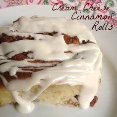 Cream Cheese Cinnamon Rolls - Chocolate Chocolate and More!