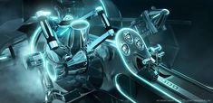 itokyoshoes:    Tron Legacy designs by Daniel Simon, legendarytransportationdesigner.