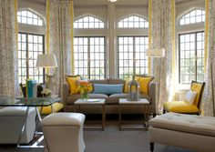 Millneck Showhouse - contemporary - living room - new york - by Eileen Kathryn Boyd