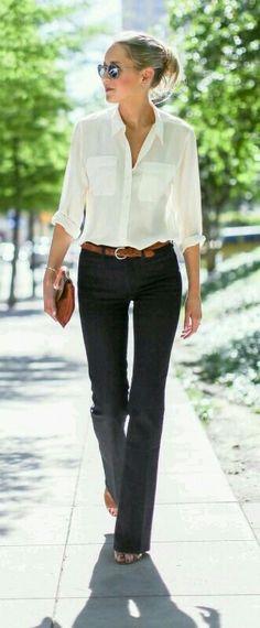 Outfit sencillo y elegante