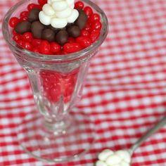 Jelly Bean Sundaes {Food Crafts}
