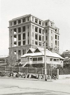 Royal Brisbane Hospital  under construction in 1927.