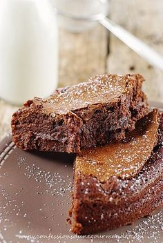 Coffee Brownies Made With Real Coffee!-These coffee brownies are brilliantly made with real coffee infused into the ingredients. No instant coffee or extracts! Just pure, delicious java!