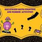 Halloween Counting and Number Activities for Special Education; Regular Education; Kindergarten; Common Core - Kindergarten;  Use of VELCRO with so...
