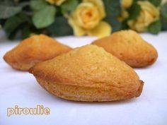 plusieurs recettes de madeleines