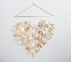 Shop capiz heart from Pottery Barn Kids. Find expertly crafted kids and baby furniture, decor and accessories, including a variety of capiz heart. Pottery Barn Kids, Paper Flower Decor, Flower Decorations, Room Decorations, Paper Flowers, Kids Wall Decor, Diy Room Decor, Paper Room Decor, Fabric Wall Decor