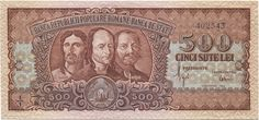 500 Lei 1949 (Bergbau), Banca Republicii Populare Romane (Banca de Stat)