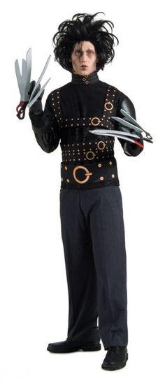 Edward Scissorhands. Más disfraces para Halloween en... http://www.1001consejos.com/15-increibles-disfraces-para-halloween/