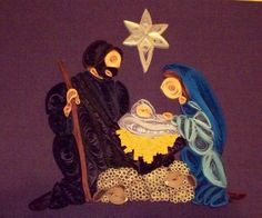 If Looks Could Quill: Nativity No. 3