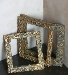 how to: picture frames from craft sticks and lace
