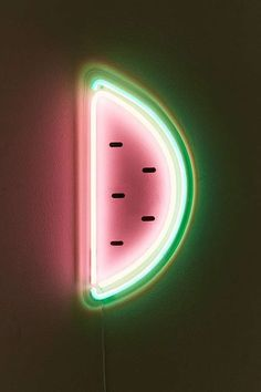 Urban Outfitters Watermelon Neon Sign – Assorted One Size grn - Wallpaper Neon Wallpaper, Iphone Wallpaper, Mickey Tumblr, Neon Light Signs, Neon Signs, Photo Polaroid, Urban Outfitters, All Of The Lights, Neon Aesthetic