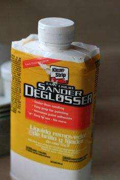 * Easier than sanding  * Easy prep for painting  * Increases paint adhesion  * Easy to use - No mess