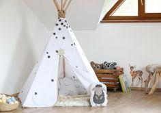 Říjnové DIY: Parádní teepee (nejen) pro děti!