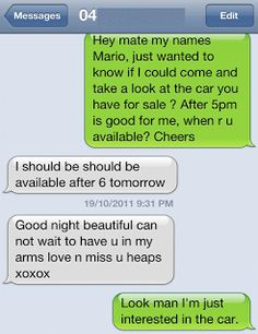 The Web Babbler: Funny Texts #61