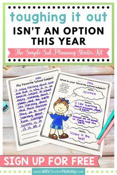 Speech Classroom Decor, Future Classroom, Teaching Boys, School Subjects, Classroom Inspiration, School Counselor, Elementary Teacher, Starter Kit, Substitute Binder