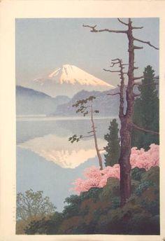 Art, Ukiyoe, Woodblock Print, Japan, Nature
