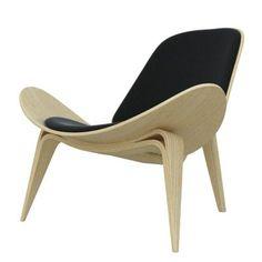 Hans J. Wegner Style Lounge Chair CH07 Interior Addict