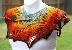 Venus Transit Scarf free crochet pattern