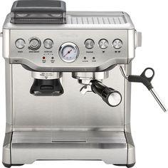 Breville® Barista Express Espresso Machine in 25% off Kitchen Electrics | Crate and Barrel