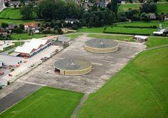 Hangares en Grimbergen. Alfred Hardy