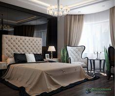 Спальня в стиле арт-деко фото