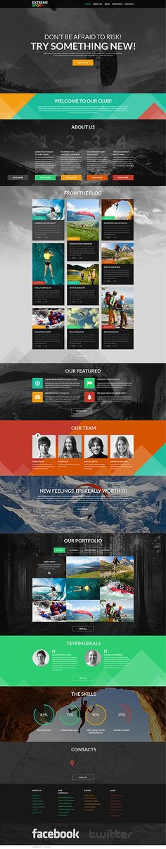 Template 51105 - Creative Responsive WordPress Theme With HTML plus JS, Parallax Effect, Background Video and Lazy Load effect
