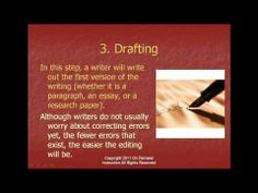 The Writing Process Video #2