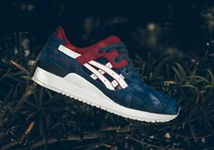 #sneakers #news  Indian Ink And Maroon Pair Up On The ASICS GEL-Lyte III