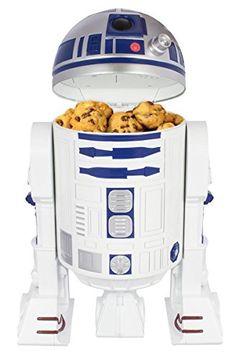 Star Wars R2D2 Keksdose mit Sound - Droiden-Knabberei - Geschenkideen für Männer