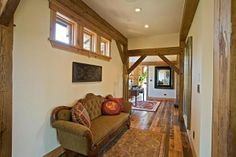 timber frame home interiors | Timber Frame Homes | Custom Gallery | Woodhouse Timber Frames