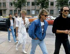 Queen in Munich, Germany in September 1984.