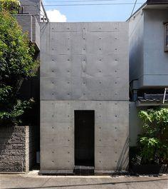 Sumiyoshi Row House, Ando Tadao 1975-76 住吉の長屋(東邸)安藤忠雄