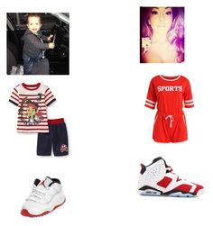 """Jr. & Nakia"" by mrssimmons525 on Polyvore featuring Disney and NIKE"