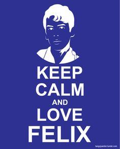 LOVE LOVE #Felix and #OrphanBlack. This is the best.