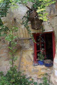 Raam in de Provence