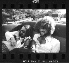 John McVie and Lindsey Buckingham   Fleetwood Mac