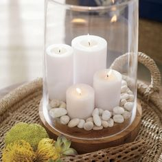 Ellery Hurricane Candle Holder   Crate and Barrel