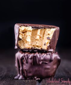 4 Ingredient Chocolate & Peanut Butter Cheesecakes