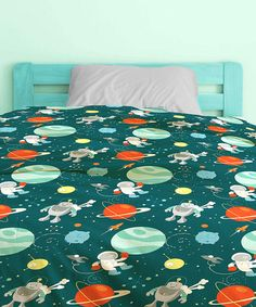 Look at this #zulilyfind! Space Adventure Bed in a Bag Bedding Set by Textile City #zulilyfinds