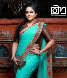 Saree Blouse, Sari, Malayalam Actress, Beautiful Indian Actress, Indian Actresses, Indian Beauty, Mj, Cute, Blouses
