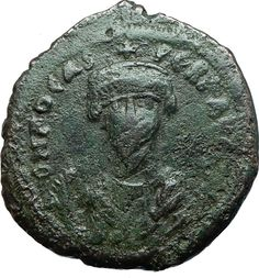 PHOCAS 602AD Constantinople Follis Authentic Ancient Byzantine Coin i66071