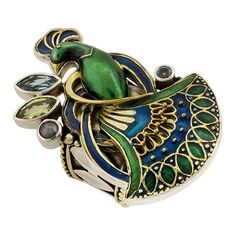 Mars and Valentine Peacock Ring ($40) ❤ liked on Polyvore featuring jewelry, rings, accessories, peacock, brooch, peacock feather ring, mars and valentine rings, peacock jewelry, vintage rings and vintage jewellery