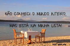 RH DO MORENO: Quer viajar o mundo e está com medo do que será da...