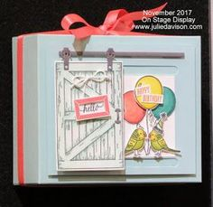 Stampin' Up! Barn Door Bundle ~ Cards That Move ~ 2018 Occasions Catalog Sneak Peek