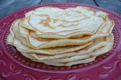 Simple Grain-Free, Dairy-Free Tortillas