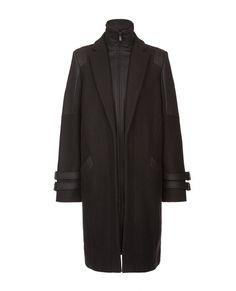 Manteaux et vestes · Manteau 80% Laine VOLERIE - Couleur NOIR Doudoune  Fine, Blouson Cuir, Couleurs Noires c8ea6f6d176