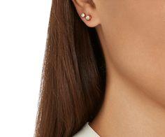 LOVE. Harley Medium Pierced Earrings Set from #Swarovski