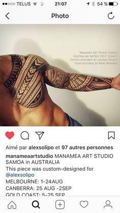 Sammmn Maori Tattoos, Irezumi Tattoos, Tribal Arm Tattoos, Marquesan Tattoos, Samoan Tattoo, New Tattoos, Polynesian Tattoo Sleeve, Polynesian Tattoos Women, Polynesian Tattoo Designs